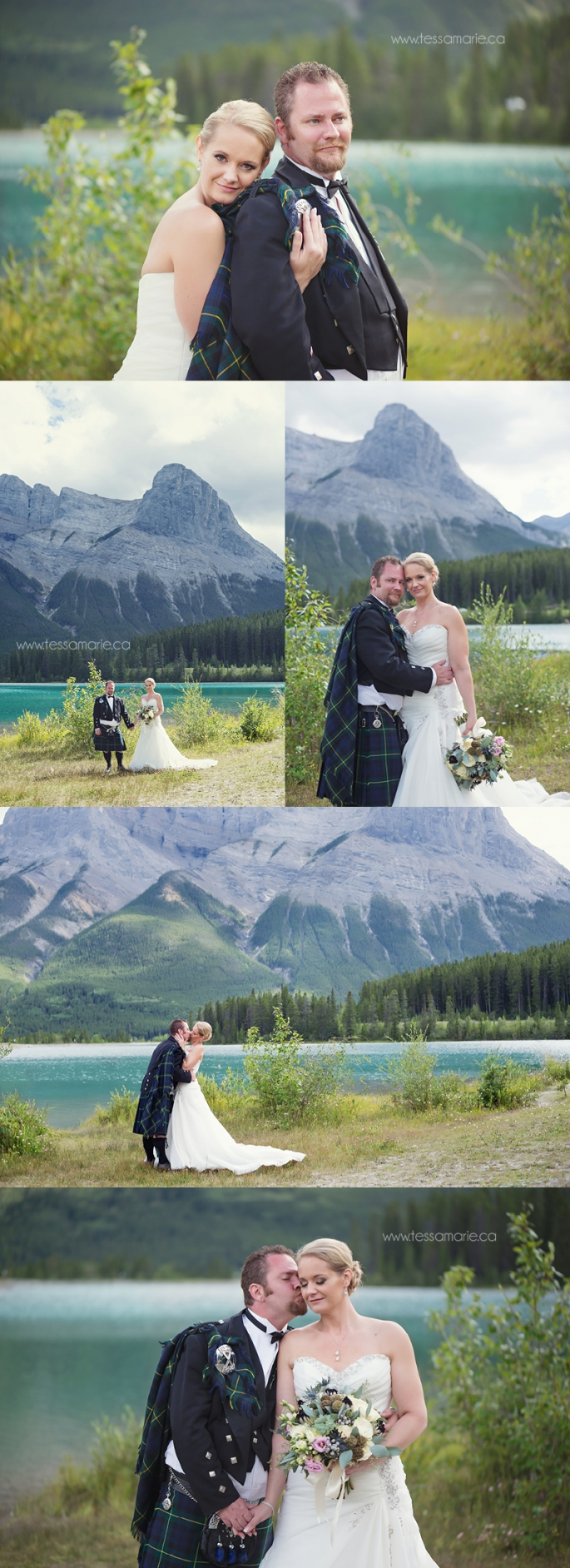 Summer Mountain Wedding Canmore