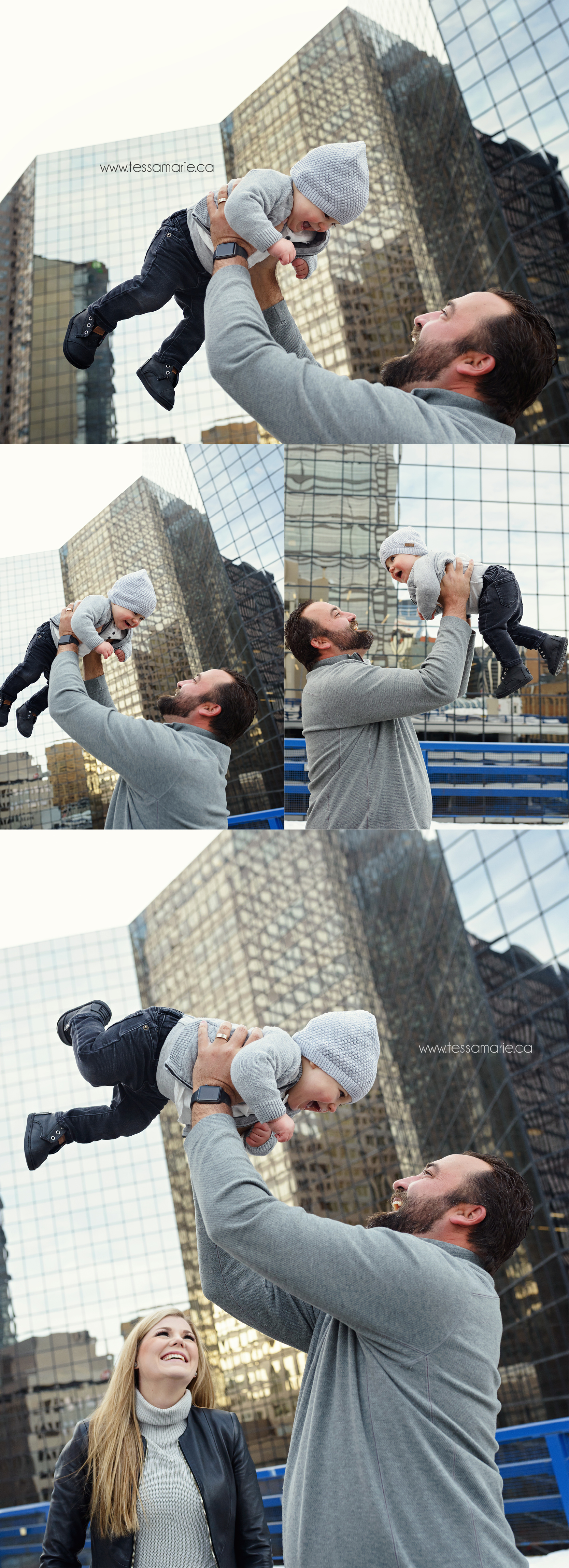 One Year old family portrait - Tessa Marie Photography Inc.  - www.tessamarie.ca