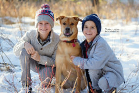 Drayton Valley - Parkland County - Winter Family Portraits