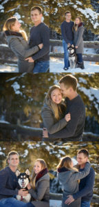 Winter engagement photos in Alberta. Tessa Marie Photography Inc. Tomahawk AB, YEG